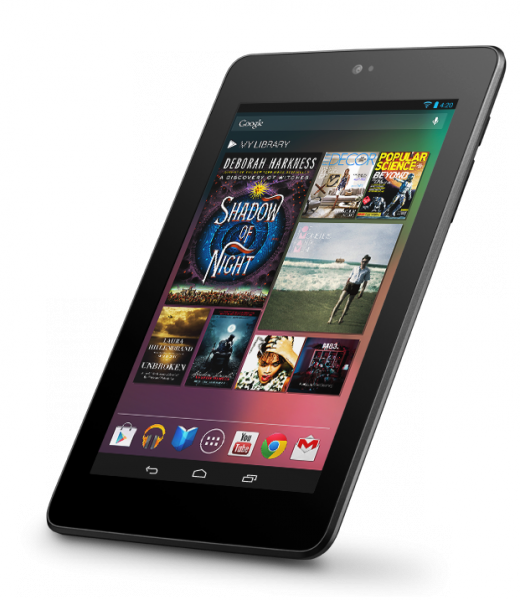 Google Nexus 7 (productfoto)