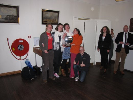 Head of the River Amstel (2012) - fastest team with the Stephan Collast trophy