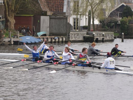 Head of the River Amstel (2012) - first place