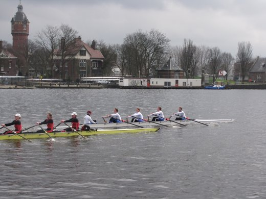 Head of the River Amstel (2012) - overtaking the first boat
