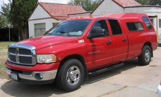 ROAM support truck (Dodge Ram 3500 - 1)